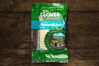 Thumb 400 clover monterey jack sliced 8 oz