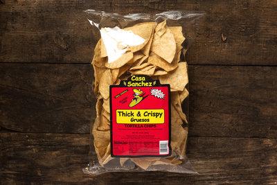 Thumb 400 casa sanchez tortilla chips thick crispy 14 oz