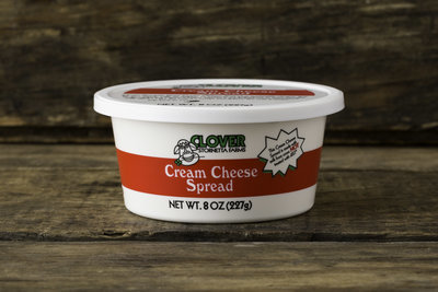 Thumb 400 clover cream cheese spread 8 oz