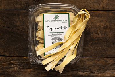 Thumb 400 santa cruz pasta factory papardelle fresh 12 oz