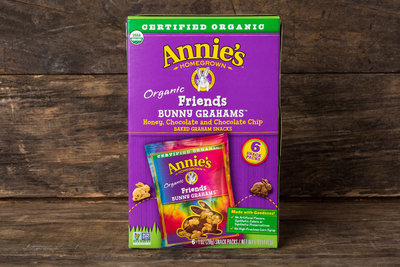 Thumb 400 annie s homegrown bunny grahams friends snack pack 6 each