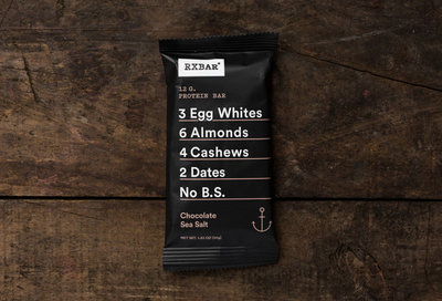 Thumb 400 rxbar chocolate sea salt protein bar 1 83 oz