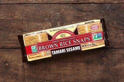 Thumb 400 edward sons trading company tamari sesame brown rice snaps 3 5 oz