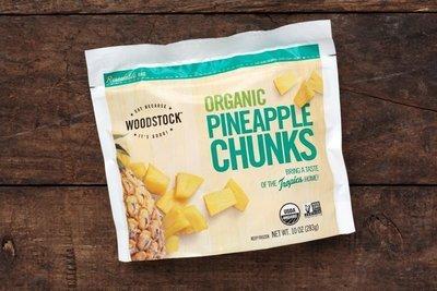 Thumb 400 woodstock foods frozen pineapple chunks 10 oz