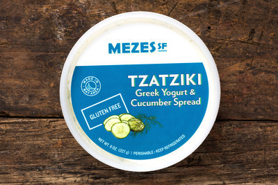 Thumb 400 mezes sf tzatziki yogurt cucumber spread 8 oz