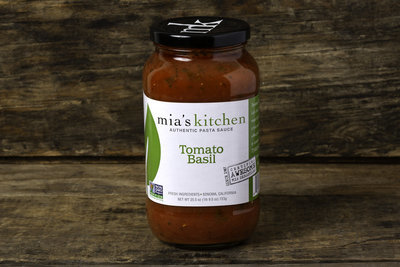 Thumb 400 mia s kitchen tomato basil pasta sauce 25 5 oz