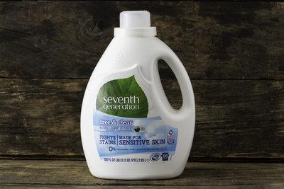 Thumb 400 seventh generation free clear laundry detergent 66 loads 100 fl oz