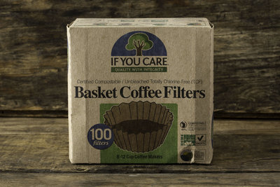 Thumb 400 if you care basket coffee filters 100 filters