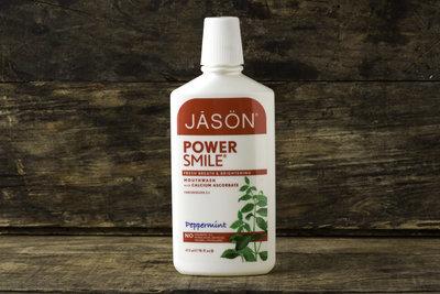Thumb 400 jason natural cosmetics power smile mouthwash peppermint flavor 16 fl oz