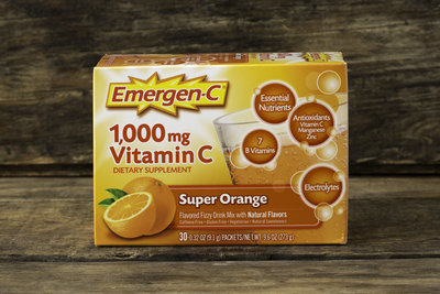 Thumb 400 alacer emergen c vitamin c 1000 mg orange flavor 30 packets