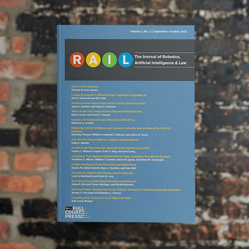 The Journal of Robotics, Artificial Intelligence, and Law (R.A.I.L.)