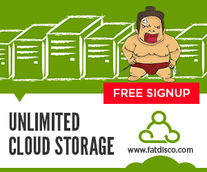 Fatdisco Unlimited Cloud Storage