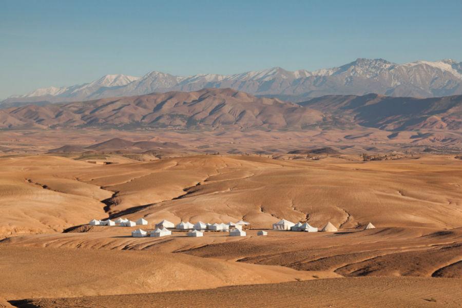 Agafay Desert.