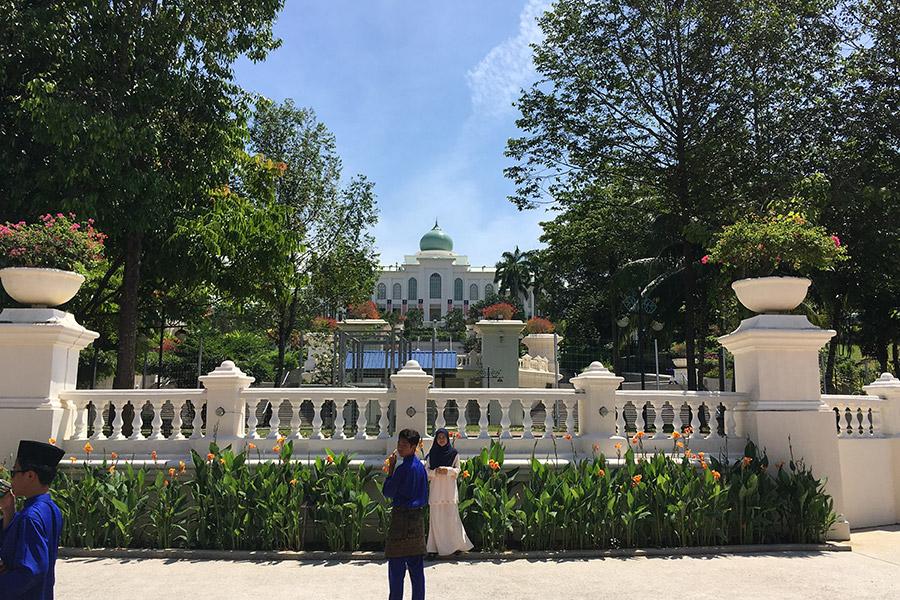 Prime minister's house.
