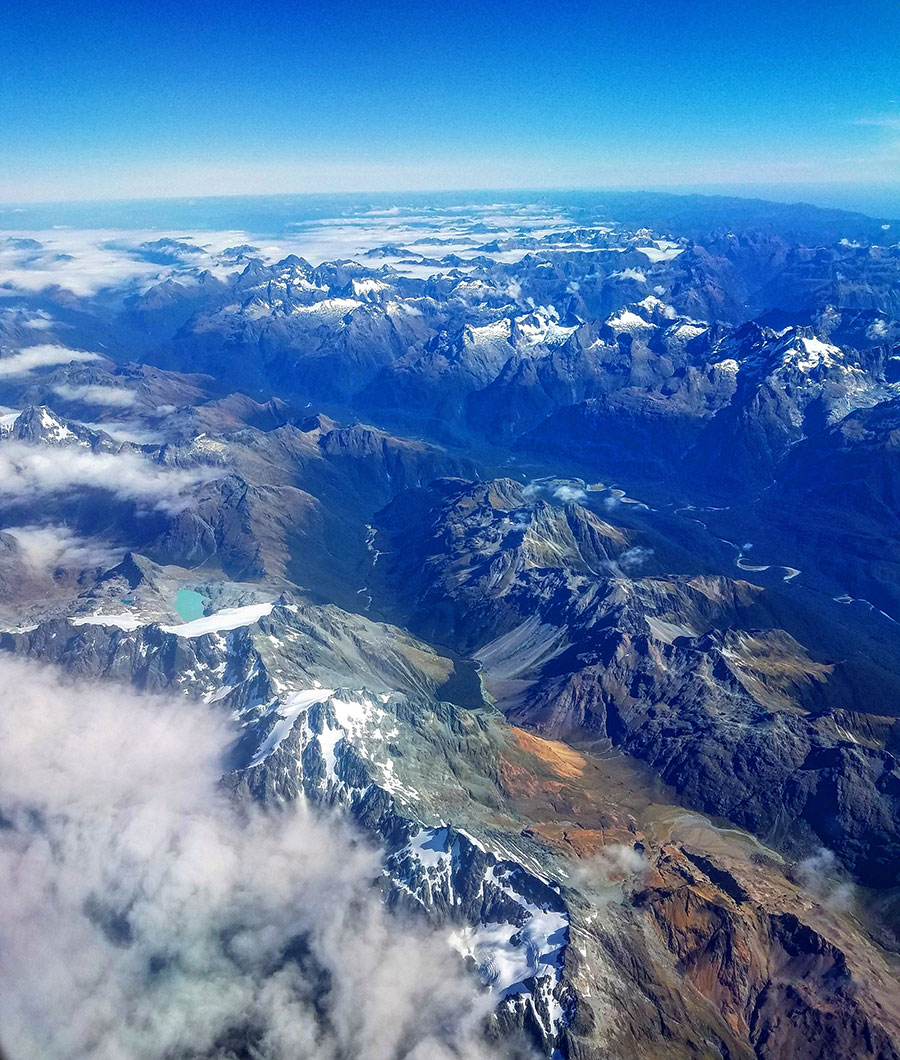 Southland from the air.