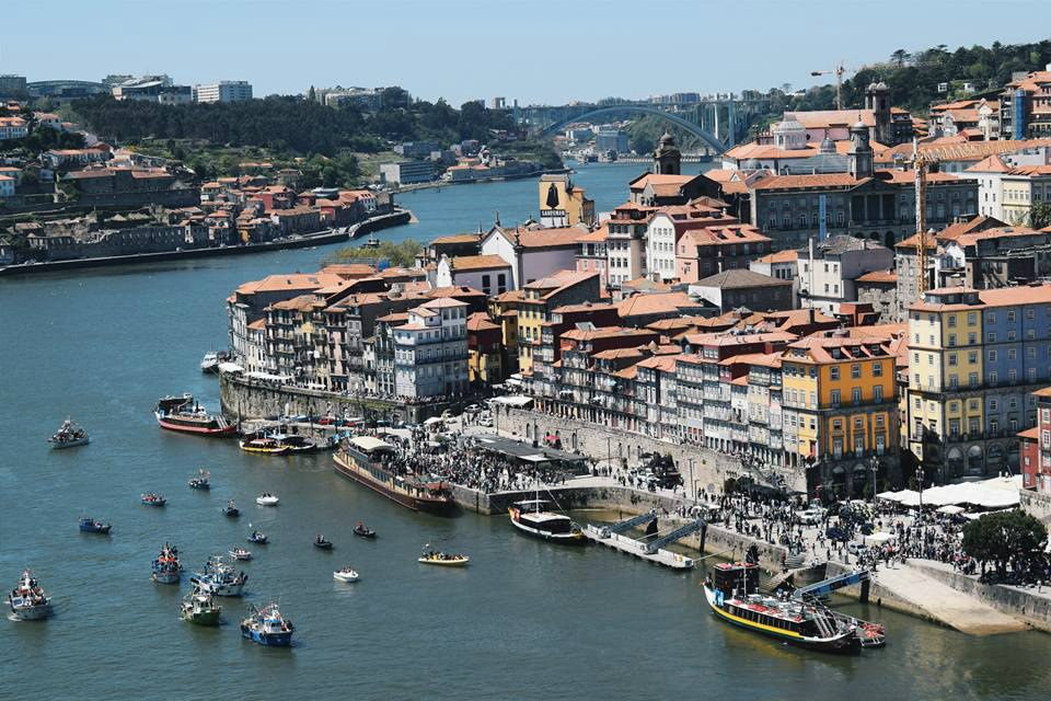 Porto's waterfront.
