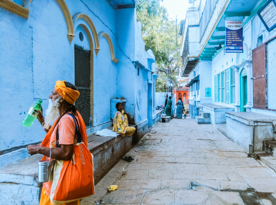 Colors of Varanasi.