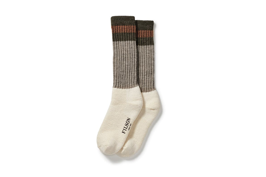 1970s Logger Thermal Sock