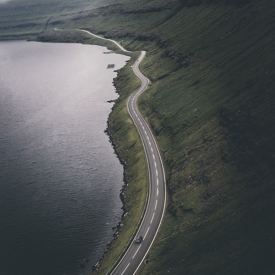 Empty Road, Faroe Islands