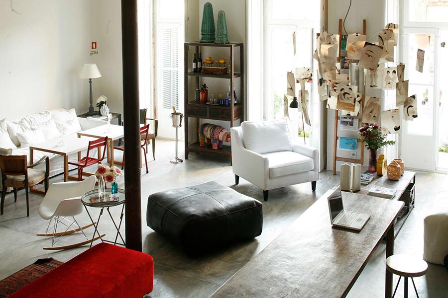 Casa das Janelas com Vista Living room