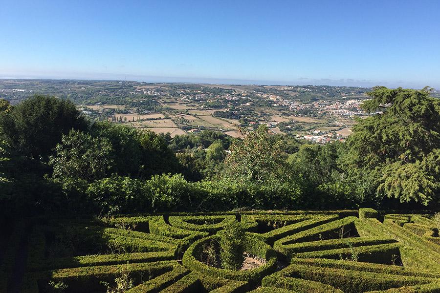 Garden at Tivoli Palácio de Seteais, Sintra, Portugal