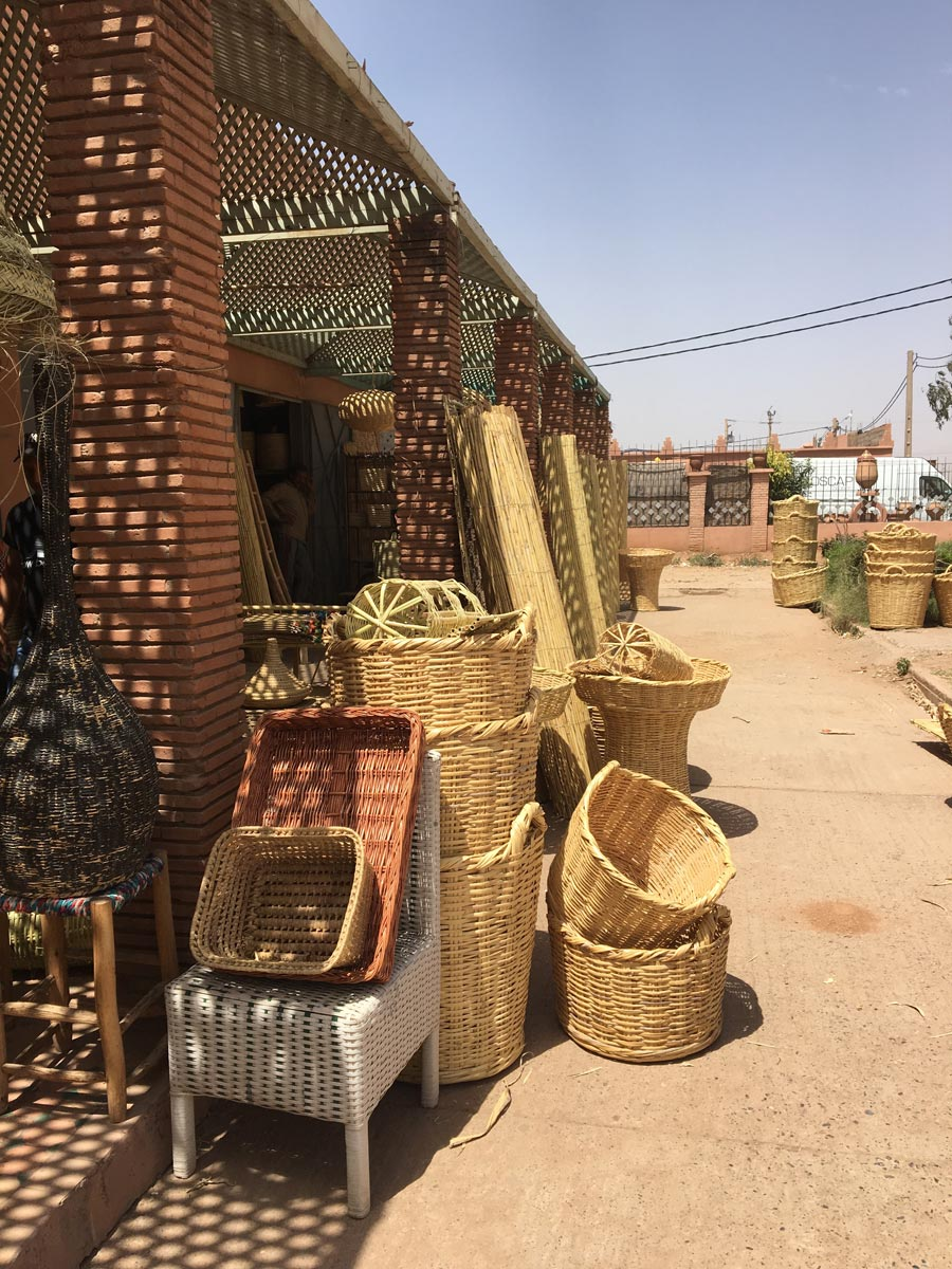 Basket Souk, Marrakech