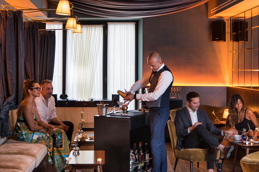 Hotel De'Ricci Charade Bar