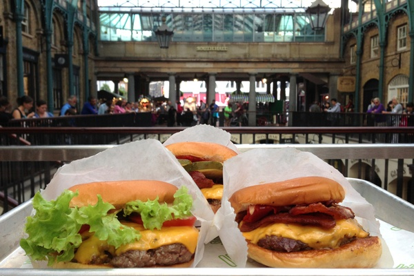 Burgers in the London Garden