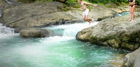 Costa Rica Lesson: Jump Naked into Waterfalls