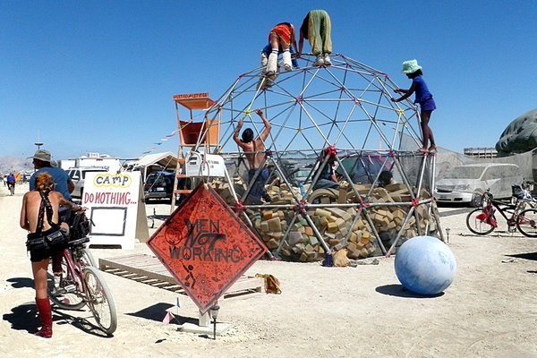 Thieves Are Just Nice People on Drugs at Burning Man