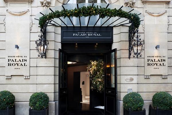 Grand Hotel du Palais Royal, Paris, France.