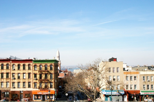Bay Ridge Channel from Sunset Park