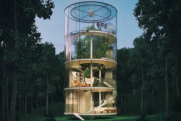 Tree House, Kazakhstan