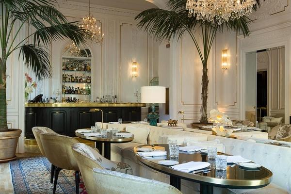 Restaurant and bar at Palazzo Dama