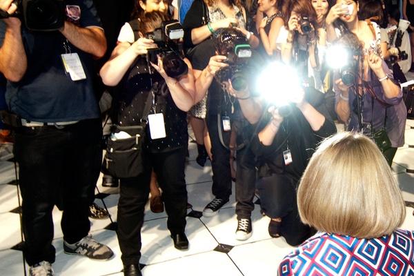 A Tourist at NYC Fashion Week