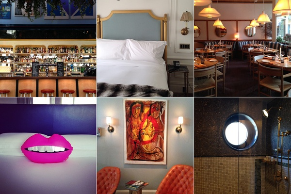 The latest crop of boutique hotels in New York City.