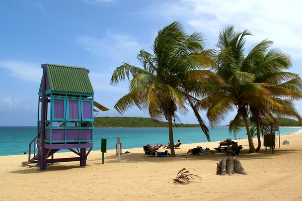 Caribbean Beach Scenes: FATHOM Puerto Rico Travel Guides And Travel