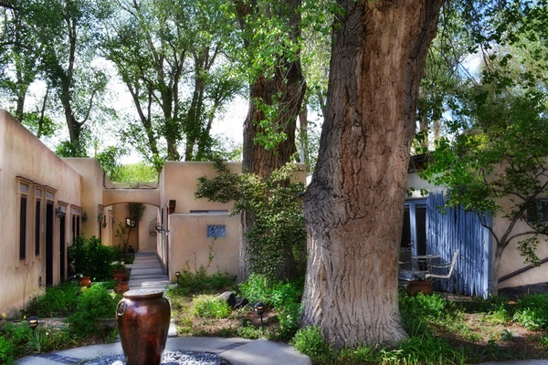 The Coziest Adobe in Taos, New Mexico