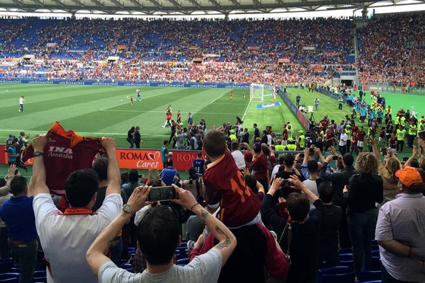 When in Rome, Don't Cheer at the Wrong Soccer Game