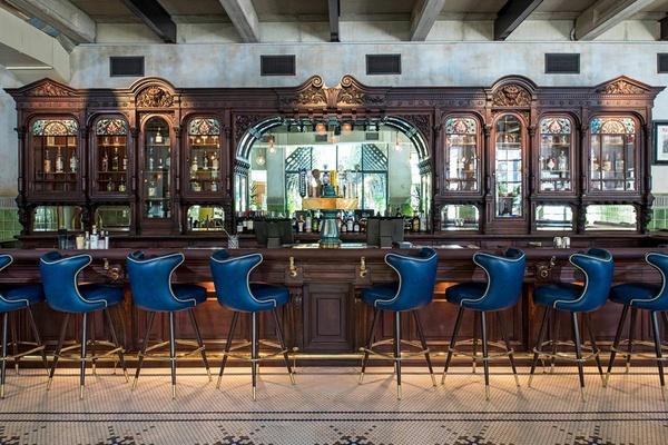 Cedar Tavern bar at The Eberly
