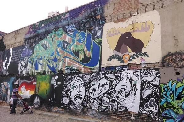 Mural on Freak Alley in Boise