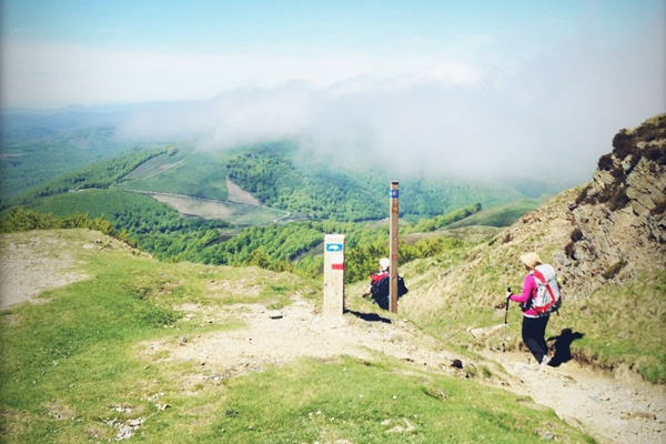 Mom and Me: Two Pilgrims Hiking in Spain