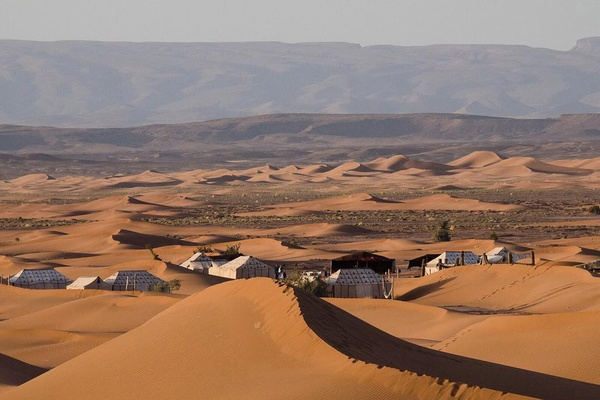 Erg Chigaga Luxury Desert Camp, Morocco.