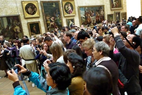 A Mona Lisa Crush