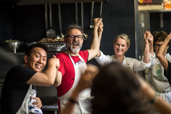 Massimo Bottura Is On a Mission to Feed the Body and the Soul