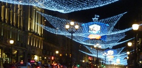 Christmas Lights on Regent Street