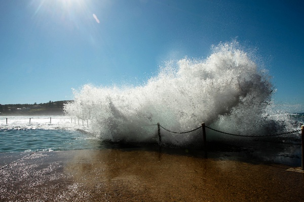 In the Face of Nature: Surviving the Rogue Wave