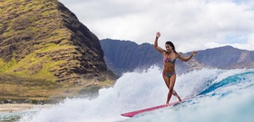 Make a Break for It: Surf Waikiki with Kelia Moniz