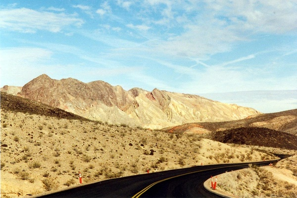 Northshore Drive at Lake Mead National Recreation Area.
