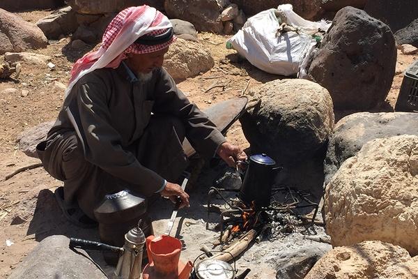 bedouin coffee ceremony, jordan